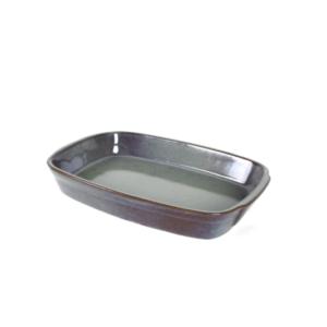 CAVN GREY Medium Rectangular Oven Plate