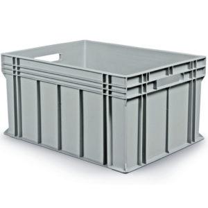 Stabelbar plastlåda 800x600x412