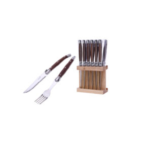 Laguiole Bistro kniv och gaffel