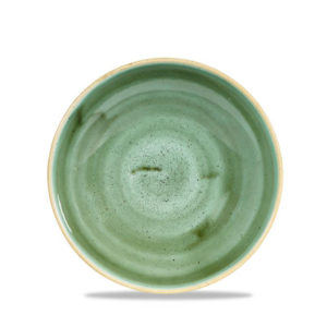 Stonecast Samphire Green Coupe Bowl 7.2